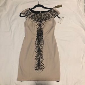 Cocktail dress with beautiful design